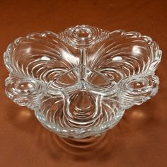 Elegant Caprice Cambridge Glass 3 Part Relish Dish by charmings #gotvintage #thanksgiving