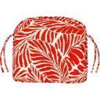 Home Decorators Collection Malkus Fresco Salsa Contoured Outdoor Seat Cushion