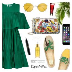 """""""Sonorous"""" by nadialesa ❤ liked on Polyvore featuring Jovonna, MAC Cosmetics, Tory Burch, Dolce&Gabbana, Clarins and Oribe"""