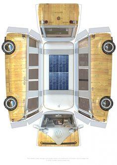 VW Verdier's Concept: Stylish Solar-Powered Eco Camper