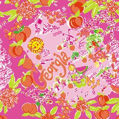 Lilly Pulitzer Georgia print! Love that the St. Simons lighthouse made the print!