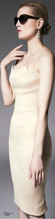 Zac Posen  ● Resort 2015 dresss @roressclothes closet ideas women fashion outfit clothing style