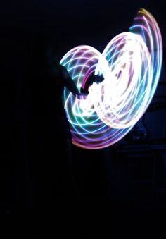 Indigo Sunrise LED Double Mini Light Up Flow Hula Hoops, Day to Night Festival Dance Hoop, Collapsible Travel, HDPE, Polypro. Moons Of Noor by MoonsOfNoor on Etsy