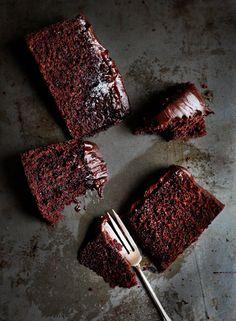 Mud Cake / Pastel de chocolate con crema de whisky