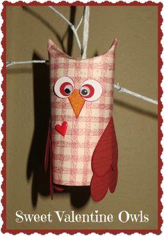 Sweet Valentine Owls by Crafty In Crosby