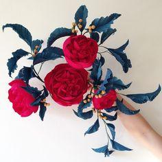 paper flowers by Jennifer Tran