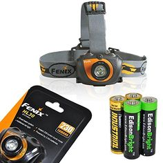 Fenix HL30 2015 ver 230 Lumen LED HeadlampGold Color with 2 X EdisonBright AA Alkaline batteries >>> Learn more by visiting the image link.(This is an Amazon affiliate link and I receive a commission for the sales)