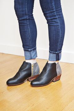 These booties are so adorable. Pair them with your favorite jeans! Do it!