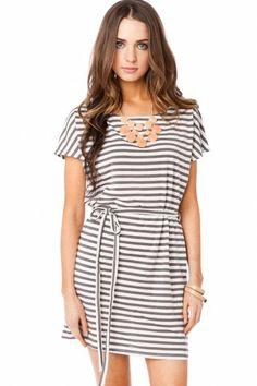 Sona Dress in Dark Grey