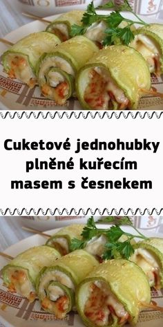 Lchf, A Table, Zucchini, Chicken Recipes, Food And Drink, Appetizers, Low Carb, Menu, Yummy Food