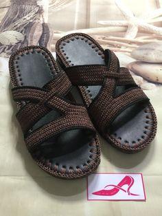 Shoes handmade Crochet Men, Crochet Baby Shoes, Crochet Slippers, Knit Shoes, Sock Shoes, Rainbow Crochet, Shoe Image, Crochet Sandals, Mens Slippers