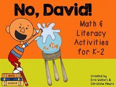 No, David! Math & Literacy Stations 80 pages of David Fun!