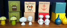 Salt and Pepper shakers as imagined by Jonathan Adler!