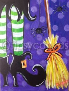 Halloween pictures Tipsy Artist – Yahoo Image Search Results - Halloween Image Halloween, Halloween Pictures, Halloween Crafts, Halloween Ideas, Halloween Window, Christmas Crafts, Canvas Crafts, Diy Canvas, Canvas Art