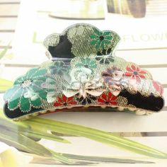 Korea multicolor acrylic hairpin