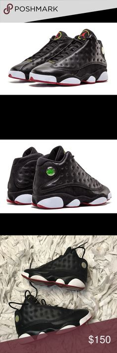 🔥 Air Jordan 13 Retro 2010 Release 🔥 Air Jordan 13 Retro 2012 release! Highly coveted shoe. Size 2.5 in boys which equates to a 4.5/5 in women. Worn just a few times. In excellent condition. Kept in a smoke and pet free environment. Accepting all reasonable offers and bundles ♥️ Air Jordan Shoes Sneakers