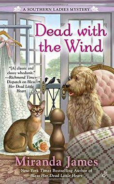 Dead with the Wind (A Southern Ladies Mystery) by Miranda James http://www.amazon.com/dp/0425273059/ref=cm_sw_r_pi_dp_Wuygwb0KQ8R0V
