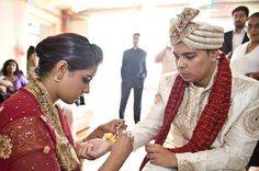 Hindoe wedding Rotterdam, preparation groom