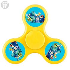 JOIEM Monsters University Disney Tri Fidget Spinner Hand Spinner Stress Reducer Hand Toy For Kids, Students And Adult - Fidget spinner (*Amazon Partner-Link)