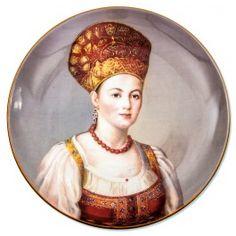 Peasant Decorative Plate