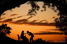 Sunset kiss on Observatory Hill before wedding reception. Photo by David Henry Photography
