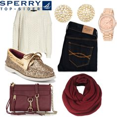 """""""Weekend Wear with Sperry Top-Sider"""" by glitterluvsxx on Polyvore"""