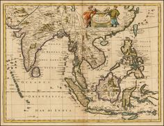 A New Map of East India . . . - Barry Lawrence Ruderman Antique Maps Inc.
