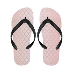 dda2a6d224165 Pretty in Pink Flip Flops for Men Women  flipflopsAroundtheWeb Rainbow Flip  Flops