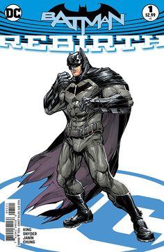 El Batman 'renacido' según Howard Porter #DC #Cómic #DCRebirth #Batman