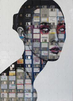Nick Gentry Collage Art...