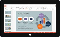 Microsoft releases Office Mobile apps (Word Excel PowerPoint & OneNote) for Windows 10 tablets. #MyAppsEden #Windows #Windows10 #Microsoft @MyAppsEden