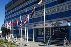 Hans Egedes Hotel Nuuk Greenland where I stayed.