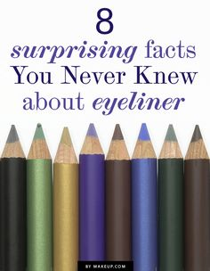 8 Facts You Never Knew About Eyeliner