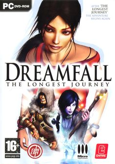 Dreamfall: The Longest Journey box cover art - MobyGames Geek Games, Xbox Games, Generation Game, Mmorpg Games, Best Pc Games, The Longest Journey, Xbox Console, Video Game Reviews, Games