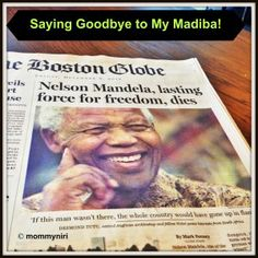 Saying goodbye to Madiba by @Nirasha Jaganath