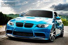Aqua Blue E90 M3....love love love the color