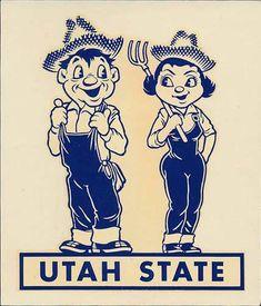 Vintage Designs, Vintage Art, Retro Illustration, Illustrations, Brush Background, University Of Utah, Character Design, Logo Design, Sports Logos