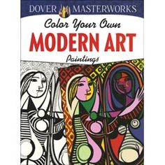 Dover Masterworks Color Your Own Books - 30 designs printed on one side of premium paper