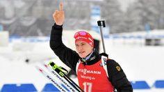 Herren-Massenstart in Oberhof Superman, Biathlon