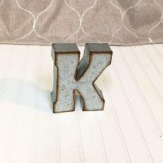 7 Inch Metal Letters Metal Lettersmetal Letterletter U7 Inch Letterwall Letter