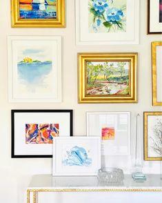 Coastal Art, Coastal Living, Old Bed Sheets, Wrap Clothing, Beautiful Houses Interior, Beach Art, Room Themes, Repurposed, Watercolor Paintings