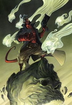 Hellboy • The comic art of Anthony Jean