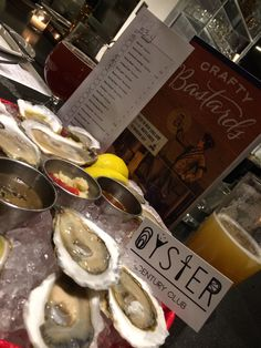 Crafty Bastards and oysters