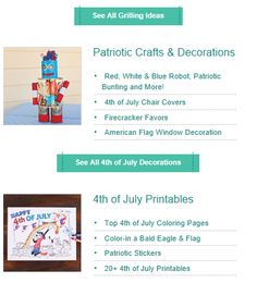 """This is an image from this resource on the Internet4Classrooms' """"Fourth of July at Internet 4 Classrooms"""" resource page:    Fourth of July Activities.    Flag fan, kid-friendly firecracker, coloring pages, and party ideas at Kaboose. [This expired link is available through the Wayback Machine Internet Archive. If the page doesn't load quickly click on Impatient? at the bottom right of the page.]"""