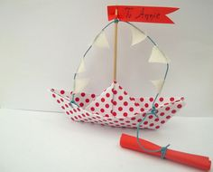 10pcsBaby shower InvitationBoat invitations for by Loulalalou, €17.00