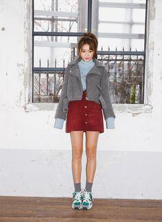 korea daily style #stylenanda #parksora #winter