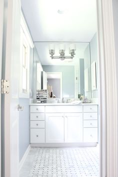 BEFORE AND AFTER: MASTER BATHROOM