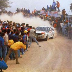 Old days of pre-WRC - Blomqvist in the Audi Quattro at San Remo '83 I want this time back!