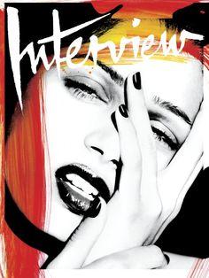 Freida Pinto for Interview Magazine - titles