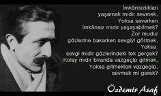 Özdemir Asaf Aşk Şiirleri – BilgiSozler.com